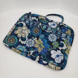 Vera Bradley Blue Soft Laptop Bag